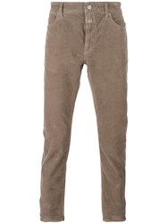 Closed Corduroy Tapered Trousers Nude Neutrals