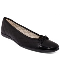 French Sole Fs Ny Passport Flats Women's Shoes Black Black