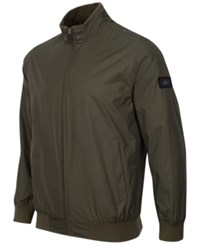 Greg Norman For Tasso Elba Men's Shell Jacket Deep Depths