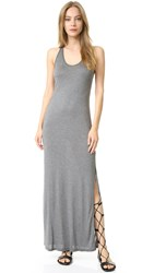 Haute Hippie Tank Dress Charcoal Heather Grey