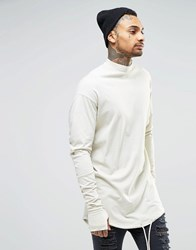 Granted Long Sleeve Top With Turtle Neck Stone