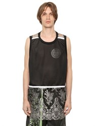 Astrid Andersen Lace And Mesh Sleeveless T Shirt