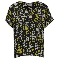 Great Plains Women's Pogo Flippy Top Mustard Mash Multi