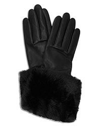 Ted Baker Emree Leather Gloves Black