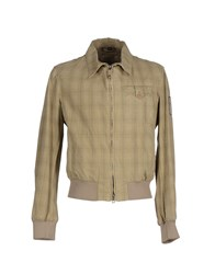 Kejo Coats And Jackets Jackets Men Beige