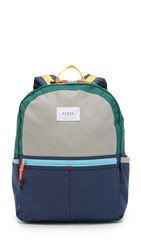 State Kane Backpack Green Navy