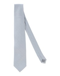Luigi Bianchi Mantova Accessories Ties Men Light Grey