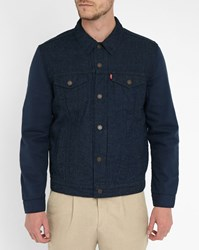 Levi's Indigo Pr Overdyed Trucker Jacket Blue