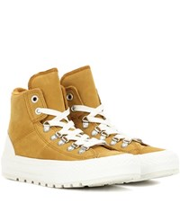 Converse Chuck Taylor All Star Street Hiker Suede Sneakers Brown