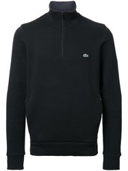 Lacoste Half Zip Sweatshirt Black