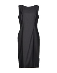 Antonio Fusco Knee Length Dresses Lead