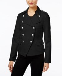 Inc International Concepts Military Jacket Only At Macy's Deep Black