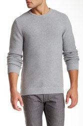 Saturdays Surf Nyc Everyday Ribbed Knit Sweater Gray