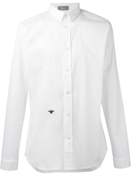 Christian Dior Embroidered Bee Shirt White