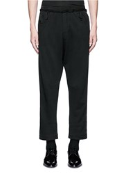 Haider Ackermann 'Perth' Relaxed Fit Jogging Pants Black