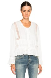 Iro Farel Top In White