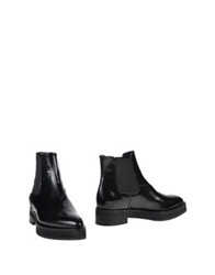 Brera Ankle Boots Black