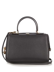 Dolce And Gabbana Bowling Grained Leather Tote Grey