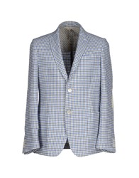 Maestrami Suits And Jackets Blazers Men Blue