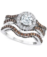 Le Vian Bridal Diamond Bridal Set 1 5 8 Ct. T.W. In 14K White Gold