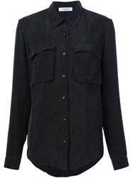 Anine Bing Loose Fit Shirt Black
