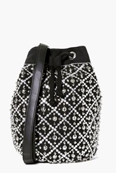 Boohoo Embellished Duffle Bag Black