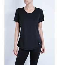 Under Armour Coolswitch Mesh T Shirt Black
