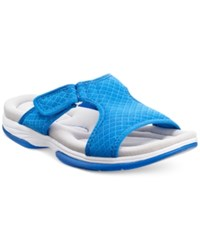 Easy Street Shoes Easy Street Garbo Sandals Women's Shoes Blue