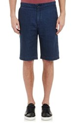 Vince. Men's Chambray Shorts Blue