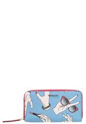 Trussardi Misura Wallet Light Blue