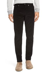 Vince Men's '718' Slim Fit Stretch Corduroy Pants Black