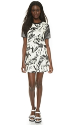 Style Stalker Supernova Tee Dress Fresh Floral Mesh