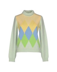 Ballantyne Turtlenecks Light Green