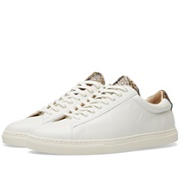 Zespa Zsp4 Sneaker Off White Nappa And Snake