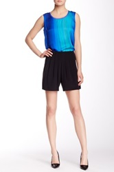 Elie Tahari Gemma Silk Short Black