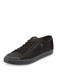 Penguin Chiller Canvas Sneaker Black