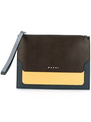 Marni 'Trunk' Wallet Clutch Multicolour