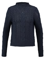 Noisy May Nmsushi Jumper Total Eclipse Dark Blue