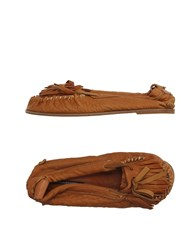 Collection Priv E Footwear Moccasins Women Beige