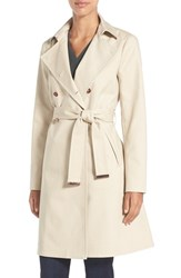 Ted Baker Women's London Flared Skirt Trench Coat Taupe