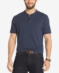 G.H. Bass And Co. Short Sleeve Henley T Shirt India Ink