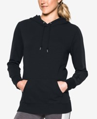 Under Armour French Terry Hoodie Black