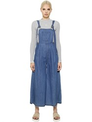 Steve J And Yoni P Maxi Cotton Denim Overall Jumpsuit
