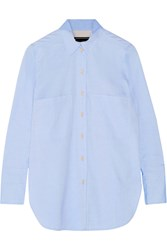By Malene Birger Irizanna Cotton Oxford Shirt Blue