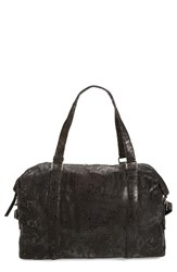 Day And Mood Shiloh Leather Overnight Duffel None Snake