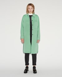 Acne Studios Berkeley Double Coat Washed Emerald