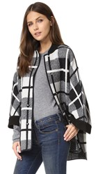 M Missoni Madras Coat Black