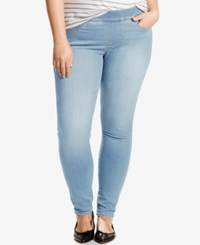 Levi's Plus Size Pull On Skinny Jeggings Sun Soaked