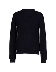 Le Mont St Michel Knitwear Jumpers Men Dark Blue