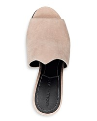 Kendall And Kylie Kendall Kylie Winged Mule Slide Sandals Sepia